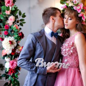 Свадебная студийная фотосъемка в Краснодаре от свадебного фотографа