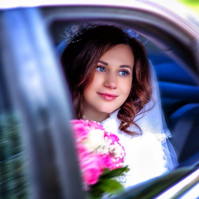 Весенняя свадебная съемка от свадебного фотографа