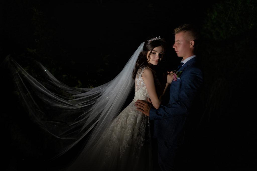 Свадебная съемка от Краснодарского свадебного фотографа: ночная свадебная съемка