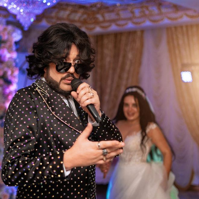 Киркоров на свадебном банкете в отеле Монарх от Краснодарского свадебного фотографа