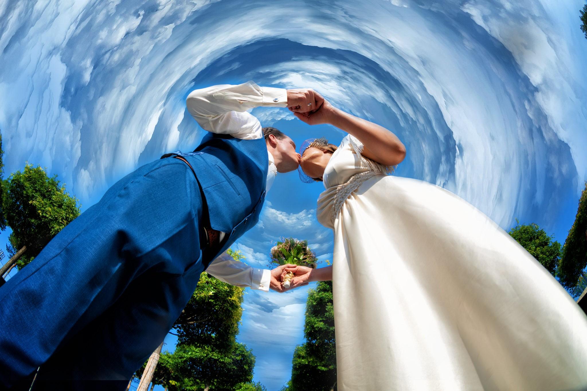 Парк Галицкого, амфитеатр, г Краснодар. Свадебная фотосъемка от Краснодарского свадебного фотографа