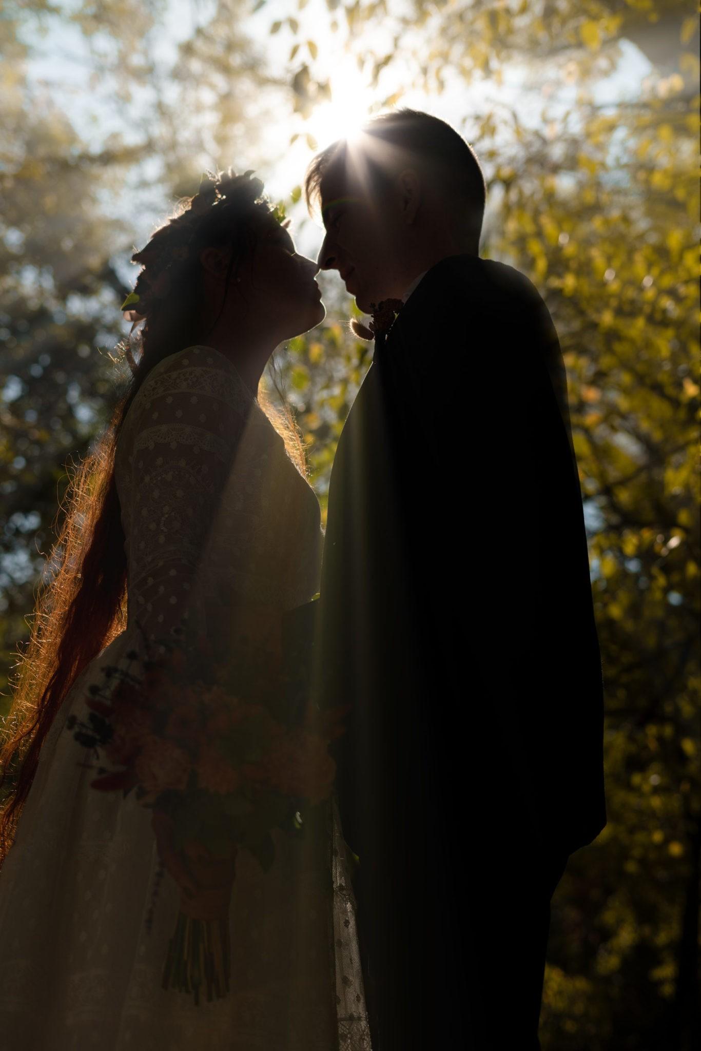 Осеняя свадебная фотосъемка в Чистяковской роще г. Краснодар