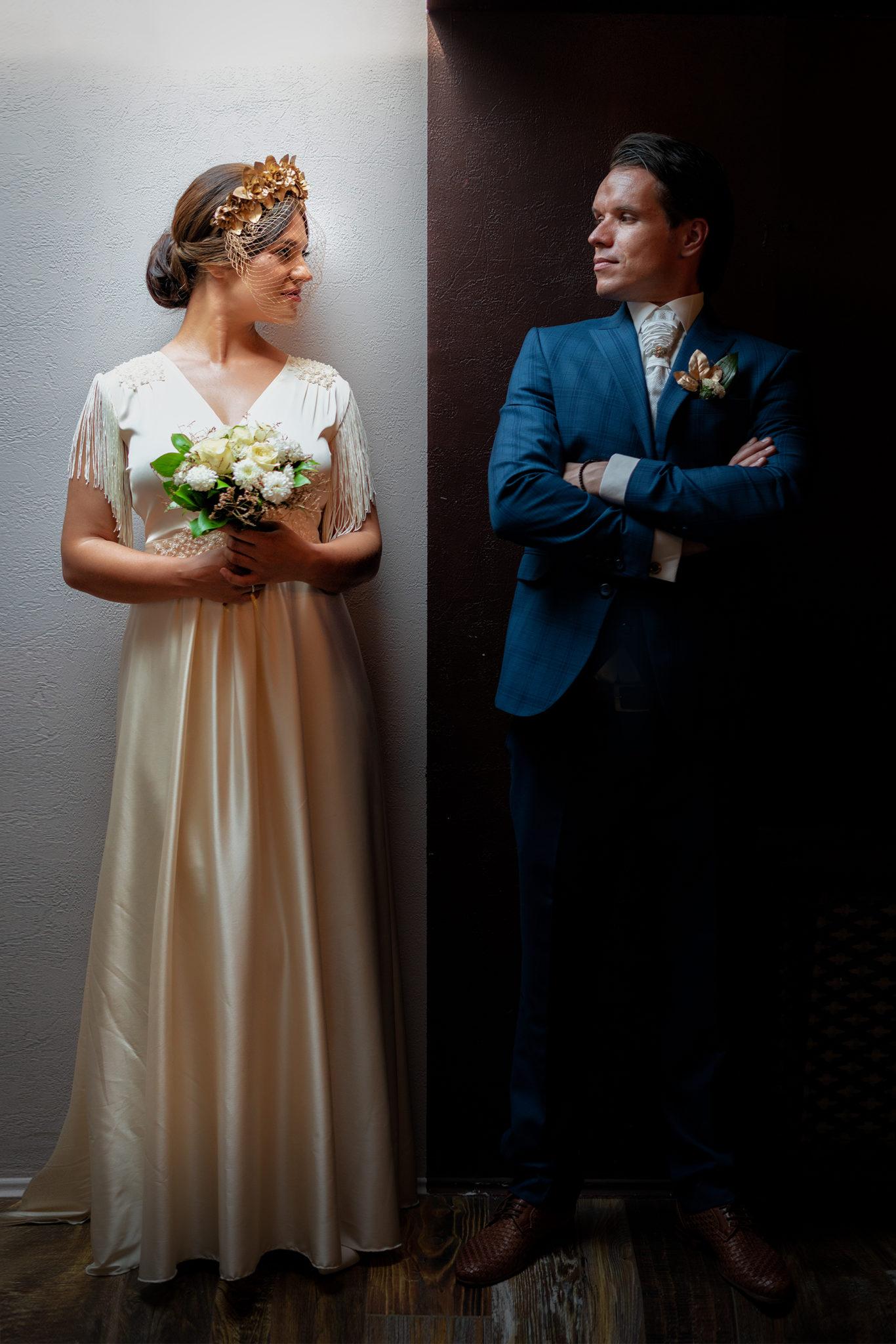 Студийная свадебная фотосъемка от свадебного фотографа