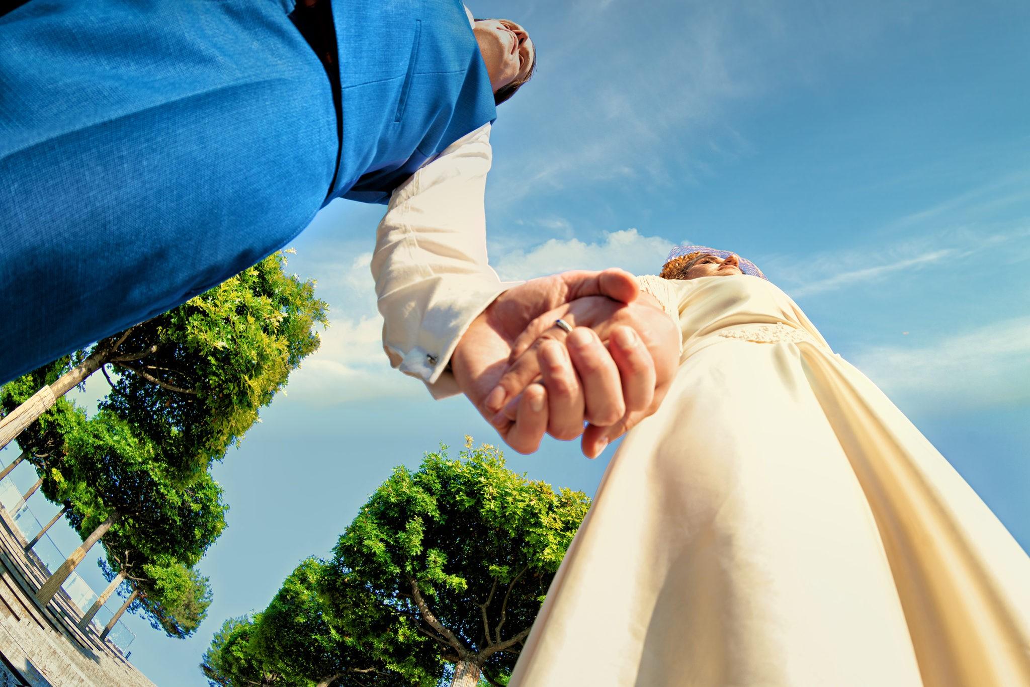 Парк Галицкого, свадебная фотосъемка в амфитеатре от Краснодарского свадебного фотографа