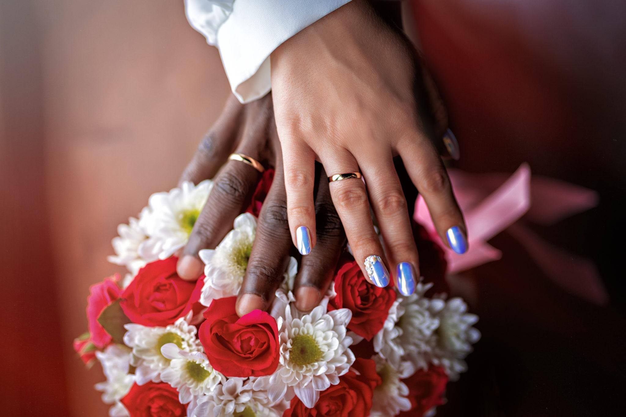 Совместные сборы жениха и невесты