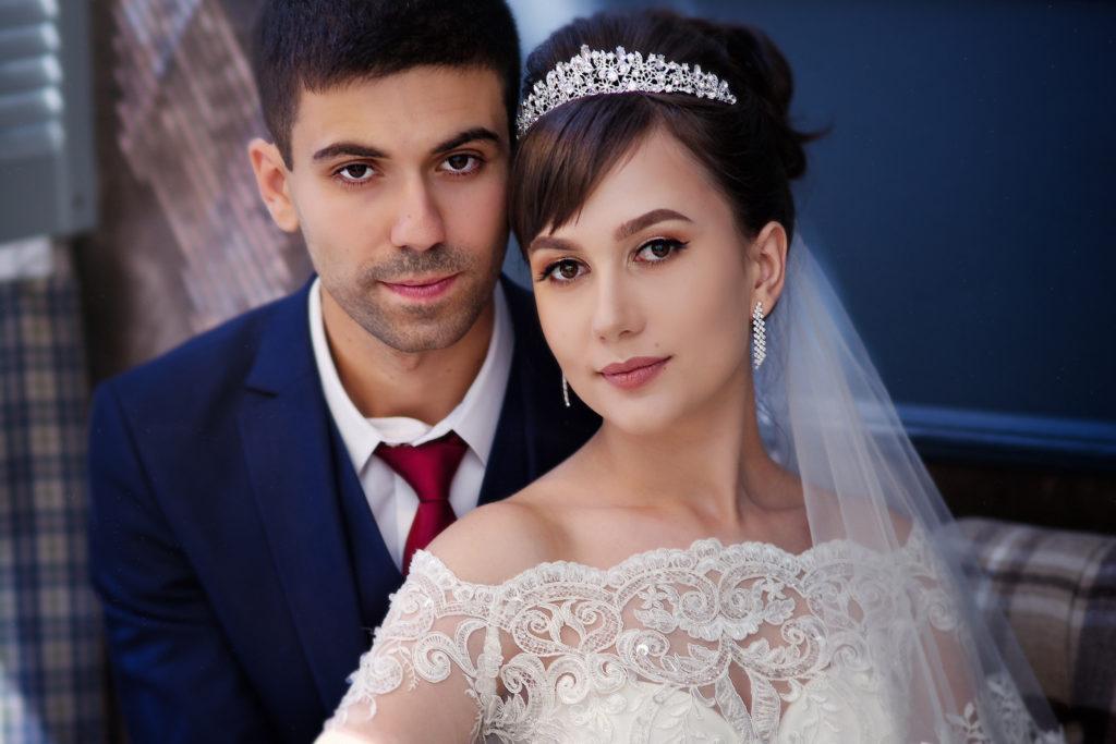 Свадебная портретная фотосъемка от Краснодарского свадебного фотографа