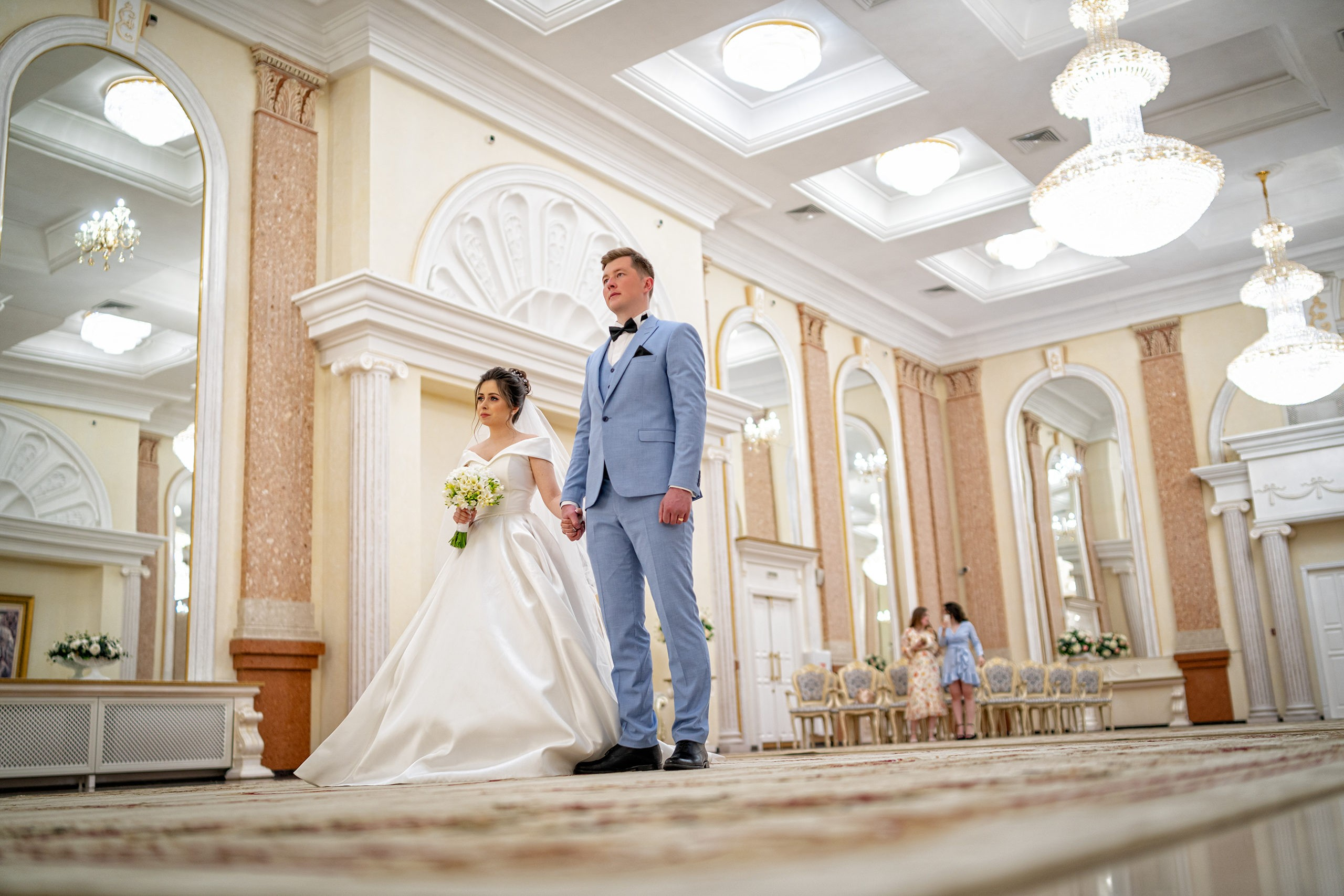 Cвадебная фотосъемка в ЗАГСе Екатерининский Зал Краснодар большой зал от свадебного фотографа