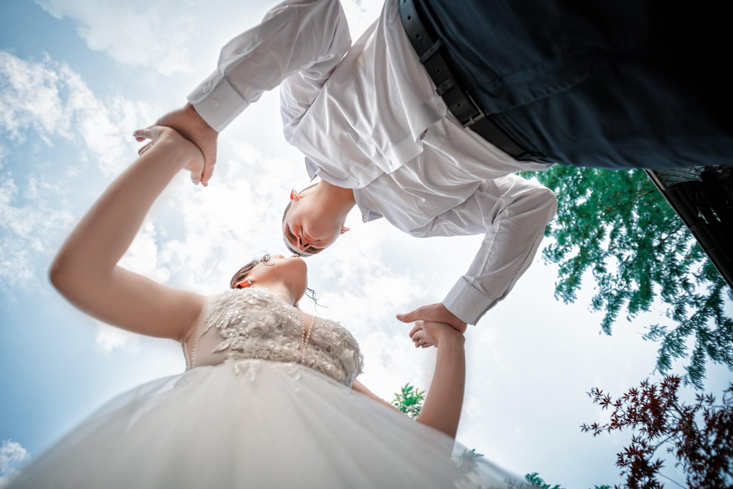 Свадебная съемка в локациях Райский берег Краснодар от свадебного фотографа Краснодар