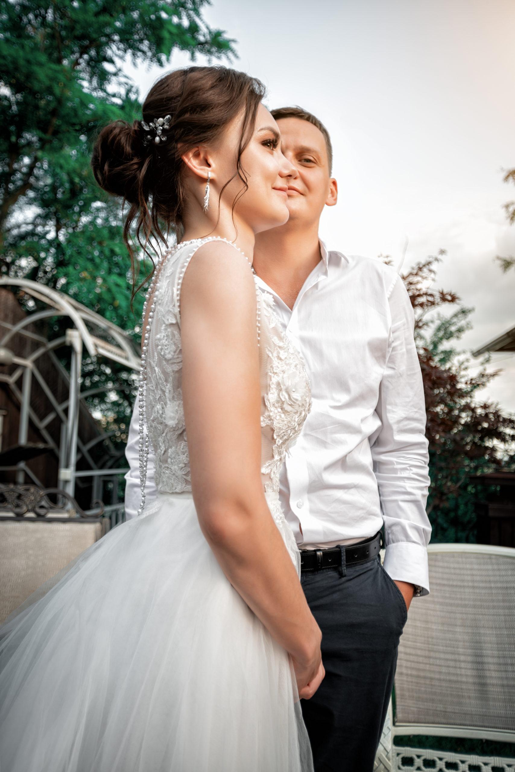 Свадебная съемка в локациях Райский берег Краснодар от Краснодарского свадебного фотографа